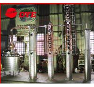 Quality Miniature Electric Rum / Brandy Copper Distillation Column With Gooseneck Cap wholesale