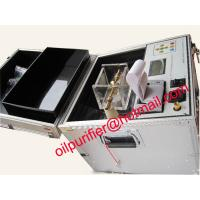 Quality IEC156 Transformer Oil Testing Equipment, Transformer Oil Tester Machine wholesale
