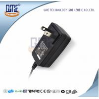 Quality 12 Volt AC DC Adapter Us Plug Wall Mount Adaptor , GME Switching Power Adapter wholesale