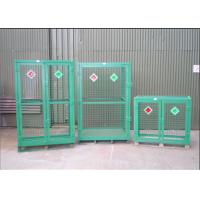 Quality Welded Galvanized Gas Cylinder Cages With Powder Coated For Industry           wholesale