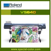 China original Roland VS640 print and cut.vinyle,banner.one way vision printing on sale