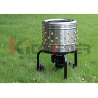 Quality Outdoor Chicken Plucker Machine with 20 Inch Stailess Steel Chicken Picker Machine wholesale