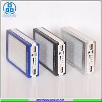 China Cheap price Waterproof solar power bank 12000mah outdoor solar charger on sale