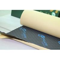 Quality Rubber Foam Sound Absorption Pad Fireproof 8mm Self - Adhesive Insulation Mat wholesale