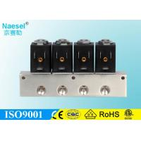 China Stainless Steel 1 Inch Plastic Solenoid Valve , Multi Unit Installation Air Actuated Solenoid Valve on sale