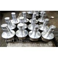 Quality 17CrNiMo6 31CrMOV9 Alloy Steel Forged Shaft  Heat Treatment And Machined wholesale