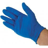 Quality Nitrile Disposable Gloves, Size: 8.5 - L Blue Powder-Free x 200 wholesale
