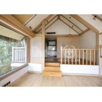 China Sandwich Wall Panel Prefabricated Wooden Houses Convenient Relocation Eco Friendly on sale