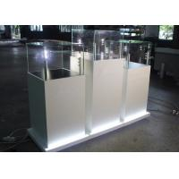 Quality Modern Wooden Glass Jewelry Show Display / Pedestal Display Case wholesale