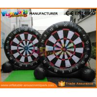 Quality Customized Inflatable Football Dart Board , Durable Inflatable Sports Equipment wholesale
