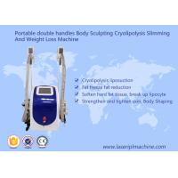 Quality Body Sculpting Cryolipolysis Slimming Machine Portable Style Weight Loss Machine wholesale