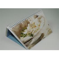 Quality Offset Custom Photo 4 Color Calendar Printed , Desk Calendar Printing wholesale