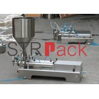 Quality Double Heads Pressure Ointment Filling Machine for Water Milk 5-20 Bottles / min wholesale
