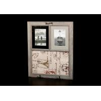 China Wooden Matted Frames With Decorative Message Board In Washed Dark Coffee on sale