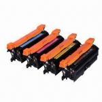 Quality CE260A, CE261A, CE262A, CE263A Color Toner Cartridges for HP Color LaserJet CP4025/CP4525n/CP4525dn wholesale