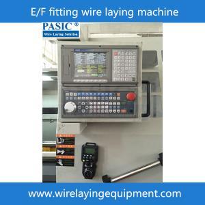 China PASIC CNC electrofusion fitting winding machine for E/F pad,sadd;e,mcoupler,reducer ect. on sale