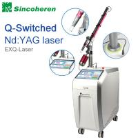 Quality Q Switched Nd YAG Laser Tattoo Removal Machine , Laser Treatment For Birthmark / Nail Fungus wholesale