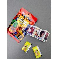 Super heroes powder candy with poker healthy and funny