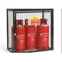 Small Gas Cylinder Cages Propane Tank Storage Easily Assembled / Dissembled