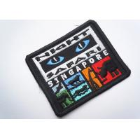 Quality Rubber  Embroidered Clothing Patch Uniform Sew On For Badges wholesale