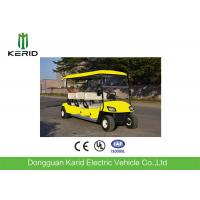 China 48V Multi Passenger Electric Golf Buggy , 8 Person Golf Cart With LED Headlight on sale
