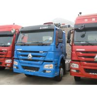 Quality Bule Color HW76 Cabin Prime Mover Truck 371hp 10 Wheels 6x4 With Air Conditioner wholesale