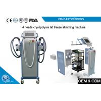 Quality Non Invasive Cryolipolysis Machine Fat Freezing For Body Slimming with 4 handle wholesale