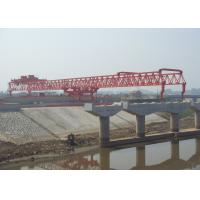 Quality Beam launcher JQG180t-50m with  Varied Launching Capacities and Heights For bridge wholesale