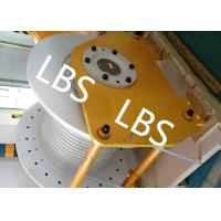 Quality Electric / Hydraulic Windlass Winch , Combined Marine Mooring Winch With Lebus Grooving wholesale