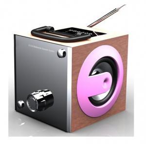 China Fashion design mp3 player portable speaker built in FM radio USB SD on sale