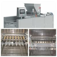 China High Efficiency Cake Making Equipment Bakery Production Line Output 200-350kg/H on sale