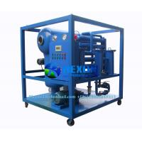 China Newly Upgrade Vacuum Type Hydraulic Oil Purifier for Milkly Industrial Oil Recycling on sale