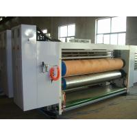 China 3 Color Corrugated Box Print And Cut Machine With Automatic Feeding 60pages/Min on sale