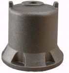 Quality Stable Pump Parts Casting / Ductile Cast Iron Water Pump Engine Cover OEM wholesale