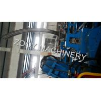 China PPGI And Galvanized steel,  Full - Automatic Grain Bin Making Machine With Reducer Motors Driven on sale