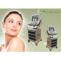 China Hot sale 180W output power hifu non surgical Ultrasonic face lift machine with 10000 shots each head on sale