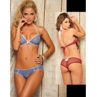 Quality Barnyard Tease Sheer Lingerie Party Adult Costumes Top and Panty Custom wholesale