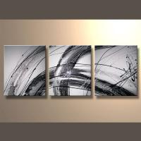China Wholesale Handmade Oil Painting Pictures Of Abstract On Canvas on sale
