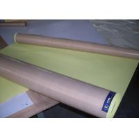 Cheap Heat Resistant Industrial PTFE Coated Fiberglass Fabric For Oven Liner / Leadwin for sale