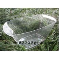 Quality clear plastic champagne ice bucket wholesale
