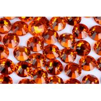 Quality Round Heat Set Rhinestones / Fashionable Glass Crystal Rhinestones wholesale
