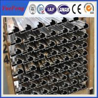 CNC/drilling/bended/OEM extruded aluminum profiles prices,aluminium profile system