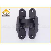 Quality Adjsuatble 180 Degree Zinc Alloy 3D Invisible Door Hinges , 111.5*29*36mm wholesale