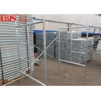 Galvanized Quick Lock Scaffolding 2.0mm Thickness For Masonry , 5 Year Warranty