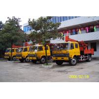 Cheap Natural Gas Truck Mounted Drilling Rig , Trailer Mounted Drilling Rigs for sale