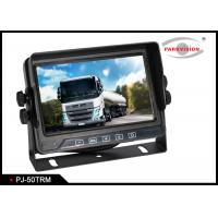 Quality 5 Inch Screen Cvbs Signal Bus Monitoring System With 3 Video Inputs Cameras wholesale