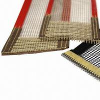 Cheap PTFE Open Mesh Conveyor Belt with Teflon-coated Fabric for sale
