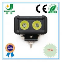 China Single row 20w 6 Cree illuminator led light bar on sale