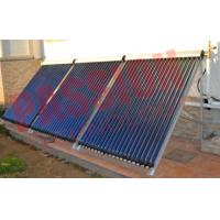 Quality Aluminum Alloy Heat Pipe Solar Collector For Low Temperature Area 20 Tubes wholesale