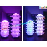 Quality New Design LED Event Inflatable Lighting Balloon Decoration Tusk for Party wholesale